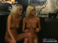 Incredible blonde babes banging in various scenes
