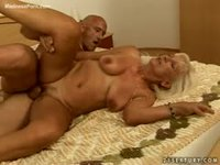 Blonde granny can still fuck good