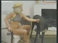 BFI Beastiality - Zoophilia - Blonde girl rammed by a dog