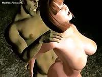 Creative hardcore xxx animation video featuring hung studs banging toon sluts