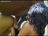 Cum hungry brunette newcomer and her girlfriend get wild in this bestiality video with a horse