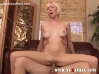 Natural breasts look fabulous bouncing as this open-minded obedient blonde rides big dick