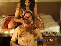 Horde of never exposed before young and mature whores engaging in scat fetish play