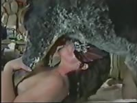 Married hoe shows off her tremendous blowjob skills on a large K9 in this bestiality sex movie