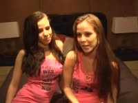 Cynical never before seen young twin sisters showing off their fabulous body in this new video