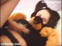 Zooskool stray x on slave on part ii