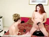 Mother Daughter Fuck Alexandra full scene - Lesbian sex video